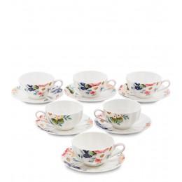 """JS-20 Чайный набор на 6 перс. """"Королева Камилла"""" (Pavone)"""