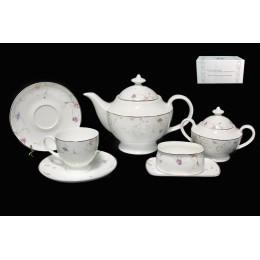 Чайный сервиз 18 предметов в подарочной упаковке  АНГЛИЙСКИЙ САД