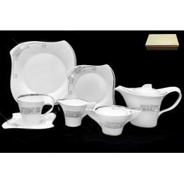 Чайный сервиз 24 предметов PLATINUM в подарочной упаковке