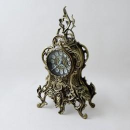 Часы бронзовые настольные Ласу