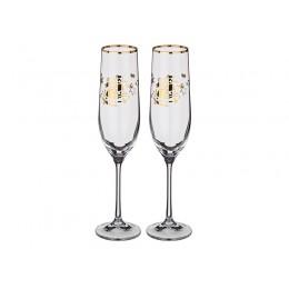 Набор бокалов для шампанского из 2 шт. 190 мл.