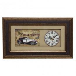 Настенные часы, 46х27 см (RO692184)