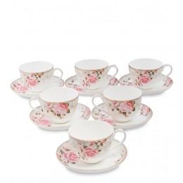 "JK-207 Чайный набор на 6 перс. ""Монте-Роза"" (Monte Rosa Pavone)"