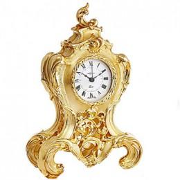 "Часы ""Завитки"" (VPORP820ORO)"