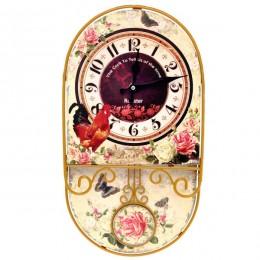 Настенные часы, 24,5х5,5х45 см. (RO692188)