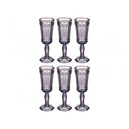 """Набор бокалов для шампанского """"муар"""" 125 мл. Высота=19 см."""