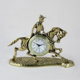 Часы бронзовые Кабальеро