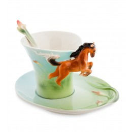 FM-70/ 1 Чайная пара ''Лошадь'' (Pavone)