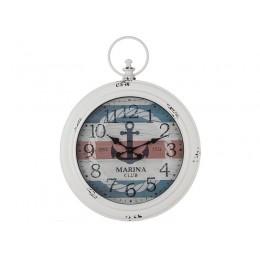 "Часы настенные кварцевые ""marina club"" 58,4*43,5*5,5 см. Диаметр циферблата=34 см."