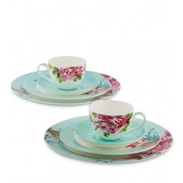 JK-181 Чайный набор на 2 перс. ''Тоскана'' (Toscana Pavone)