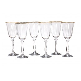 "Набор бокалов для вина из 6 шт.""Анжела оптик"" 250 мл."
