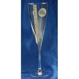 """Подарочный набор бокалов для шампанского """"Regina"""" с кристаллами Swarovski на 2 персоны"""