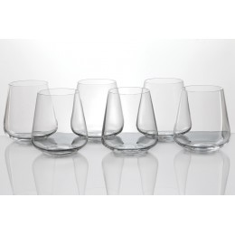 "Набор стаканов для виски из 6 шт.""Сандра"" 400 мл."