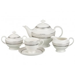 """Чайный сервиз """"Кларисса"""" на 6 персон 15 пр.1200/250 мл."""