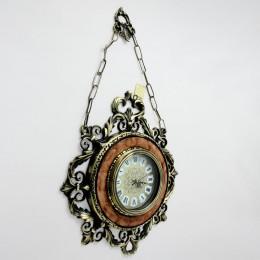 Настенные бронзовые часы