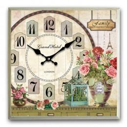 Настенные часы, 42х5,5х42 см. (RO692203)