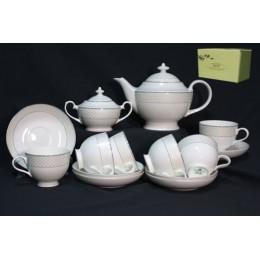 Чайный сервиз 16 предметов в подарочной упаковке  АРЛЕКИН