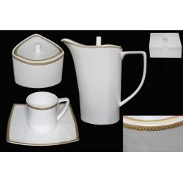 Чайный сервиз 16 предметов GALAXY GOLD в подарочной упаковке