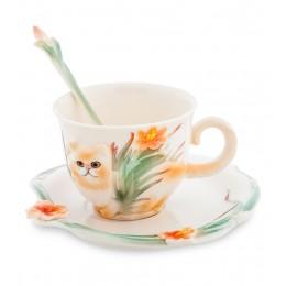 FM-69/ 3 Чайная пара ''Персидский кот'' (Pavone)