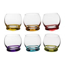 Набор стаканов из 6 шт. Crazy 390 мл.