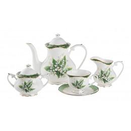 Чайный сервиз ландыш на 6 персон 15 пр. 1200/200 мл.