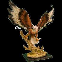 """Фигура """"Орел летящий"""" темно-коричневый 54х46 см"""
