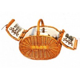 """Набор для пикника в плетеной корзине """"Fiesta"""""""