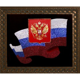 "Картина Сваровски ""Флаг"""