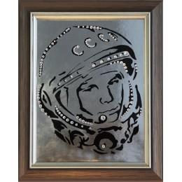 """Картина Swarovski """" Гагарин"""""""