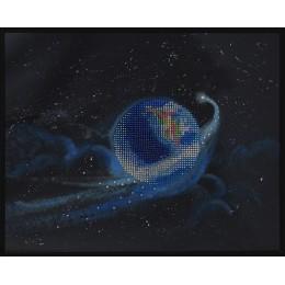 Земля с кометой