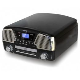 """Проигрыватель виниловых дисков Camry CR1134 Black """"Montreux 1965"""""""