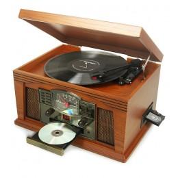 """Проигрыватель виниловых дисков Ricatech RMC200 """"California"""" (+ доп игла)"""