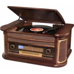 """Проигрыватель виниловых дисков Roadstar HIF-1993BT (1996BT) """"Cabinet"""" (+ доп игла)"""