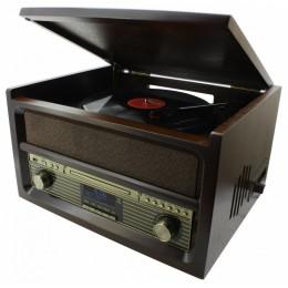 """Проигрыватель виниловых дисков Soundmaster NR515 """"Heritage 1969"""" (+ доп игла)"""
