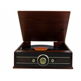 """Проигрыватель виниловых дисков в стиле ретро Soundmaster PL550 """"Sound Master"""""""