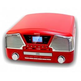 """Проигрыватель виниловых дисков Camry CR1134 Red """"Montreux 1965"""""""