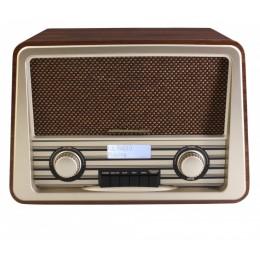 """Радио в стиле ретро Soundmaster NR920BR """"Retro"""" (корпус орех)"""