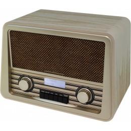 """Радио в стиле ретро Soundmaster NR920W """"Retro"""" (корпус белый ясень)"""