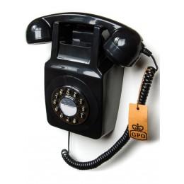 Настенный телефон в стиле ретро GPO 746 Wall Black