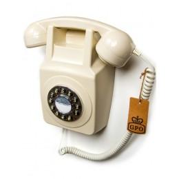 Настенный телефон в стиле ретро GPO 746 Wall Ivory