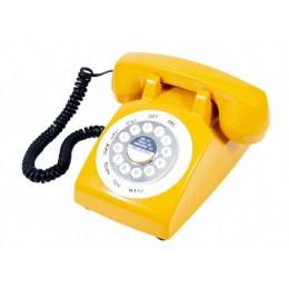 Телефон в стиле ретро Classic Phone Yellow