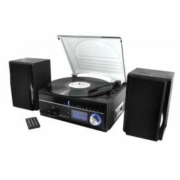 Проигрыватель виниловых дисков ретро Soundmaster MCD1700 (+ доп игла)