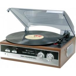 """Проигрыватель виниловых дисков Soundmaster PL186 """"Turntable 1976"""""""