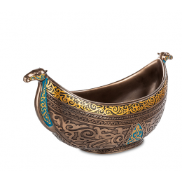 "Чаша с орнаментом Veronese ""Арабеска"" (bronze)"