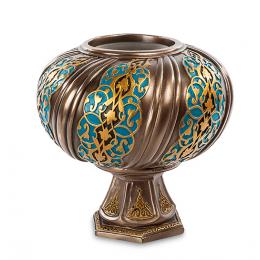Подсвечник с орнаментом Veronese (bronze)