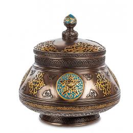 Шкатулка Veronese с орнаментом (bronze)