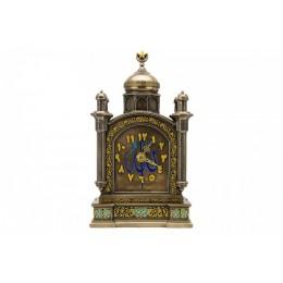 """Часы с бронзовым покрытием """"Арабеска"""", выс.25см"""