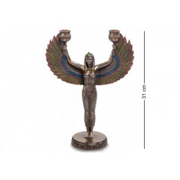 "Подсвечник Veronese ""Исида - богиня материнства и плодородия"" (bronze)"