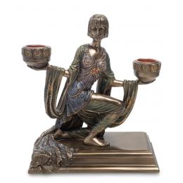 """Подсвечник Veronese """"Леди с чашами огня"""" (bronze)"""