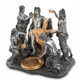 "Статуэтка Veronese ""Аполлон и Нимфы"" (black/gold)"